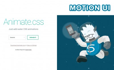 Best Animation Frameworks: Animate.CSS vs Motion UI