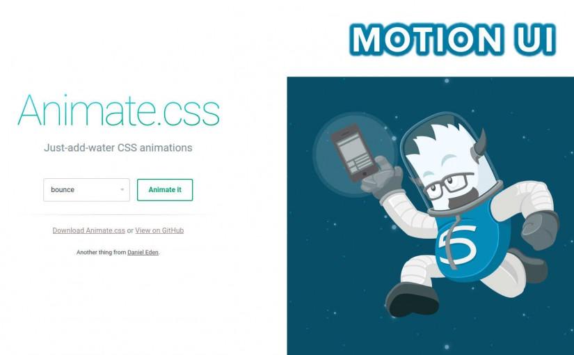 Best Animation Frameworks: Animate.CSS vs Motion UI