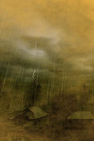 Thunderstorm iphone wallpaper