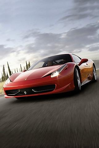 Ferrari 458 iphone Wallpaper