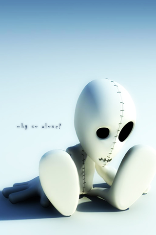 Why So alone iphone wallpaper