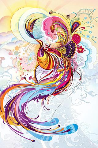 Phoenix Rendition iphone wallpaper