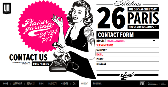 80+ Modern Contact Form Designs