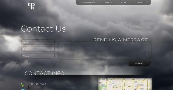 30 Trendy Contact Form Designs