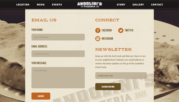30 Trendy Contact Form Designs for your Inspiration