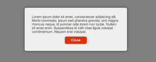 Beautiful Looking Custom Dialog Box With jQuery and CSS3