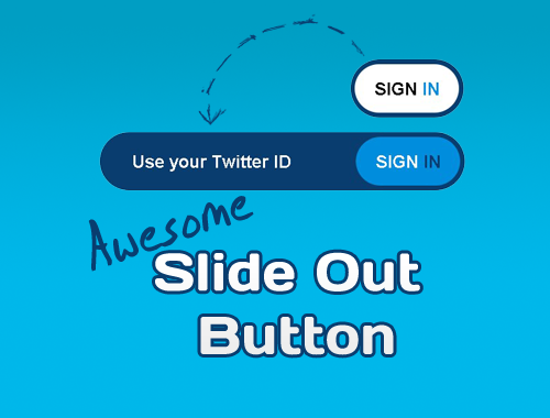 CSS3 & jQuery Slide Out Button