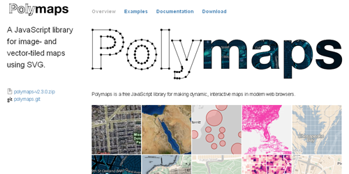 polymaps Components for Javascript Developers