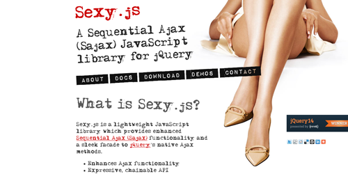 sexyjs Components for Javascript Developers