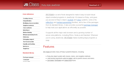 JS.Class Components for Javascript Developers