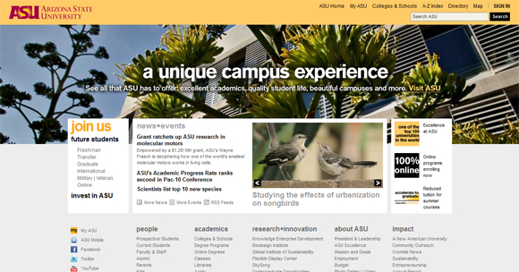 35 Stunning Educational Website Designs