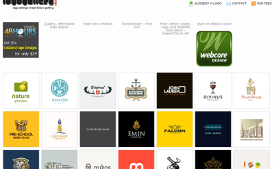 Top 35 Resources for Logo Design Inspiration Galleries