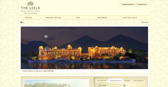 20 Cool Well Designed Travel and Hotel Website Designs