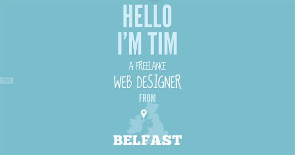 45 Best Inspirational Examples of HTML5 Websites Designed