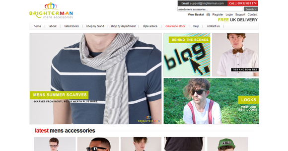 25 Glamorous Creative Fashion Websites Design