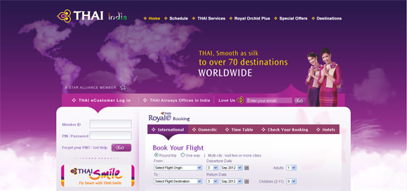 30+ Amazing Airlines Website Designs for your Inspiration