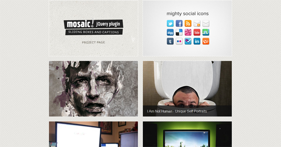 60+ Impressive Jquery Image Gallery, Lightbox, Tabs, Menu, Text Effects