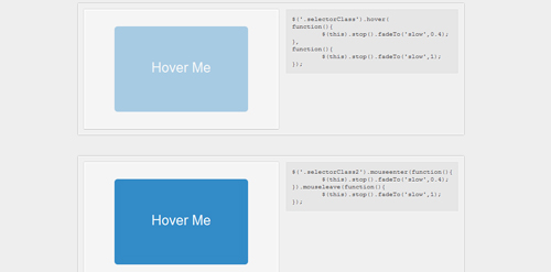 MicroTut: The jQuery Hover Method