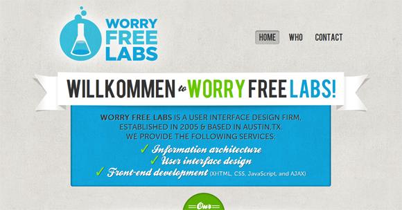 35 Stunning Blue Color Website Designs