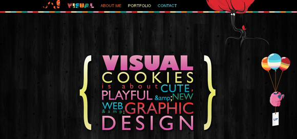 35 Colorful Eye-catching Portfolio Designs