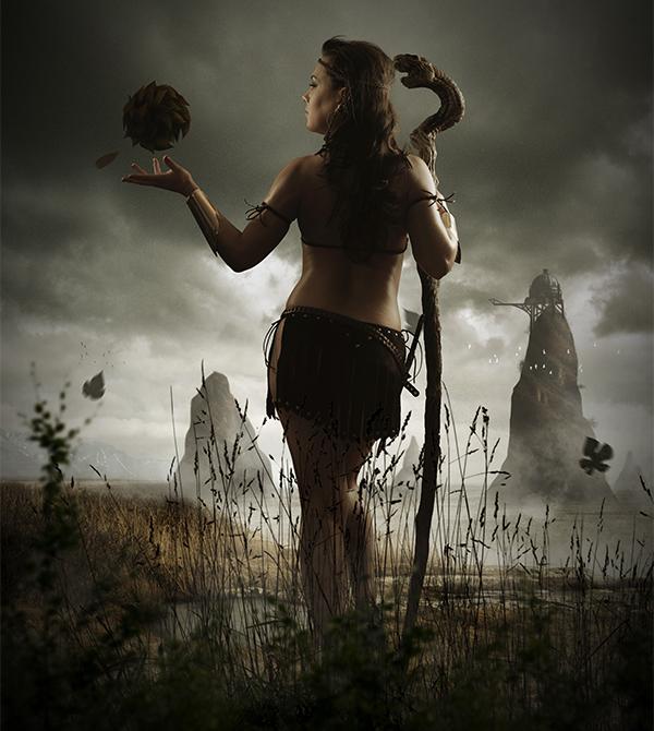 Mystical Tribal Warrior