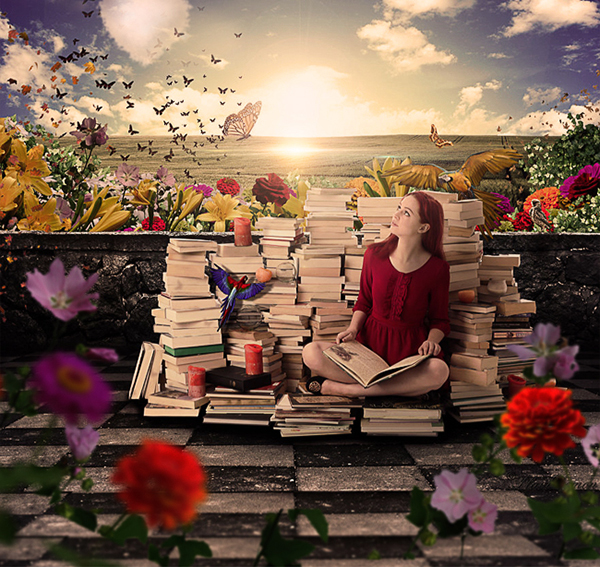 Wonderful World Romantic Photoshop Manipulation