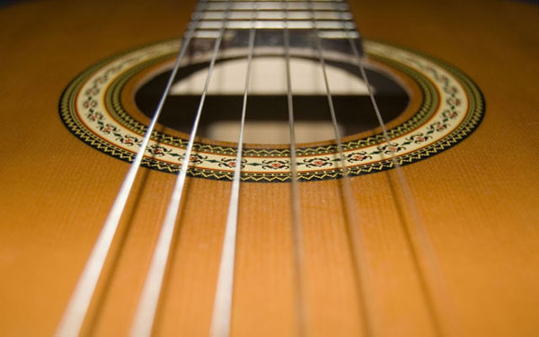 Acoustic Strings wallpaper