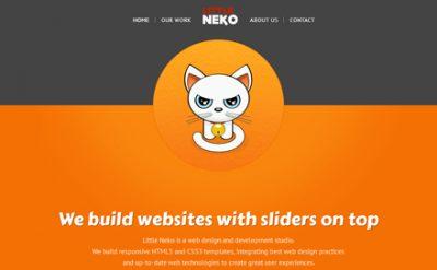 20+ Inspirational Orange Color Websites Designs