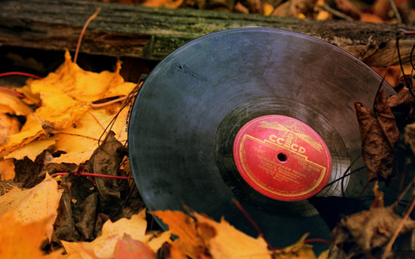 Autumn Music wallpaper