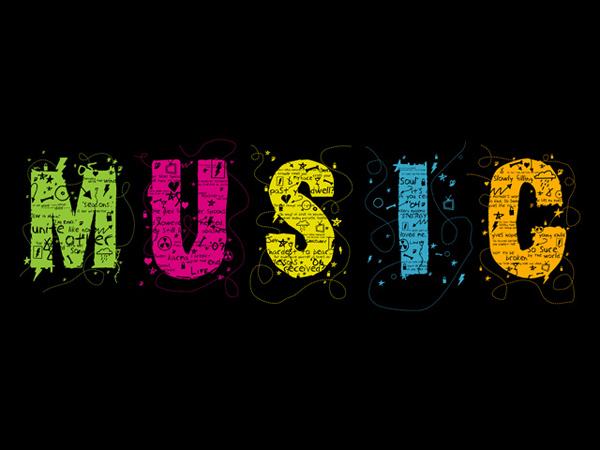 Music Panels wallpaper