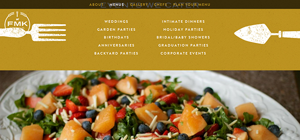 20+ Attractive Food And Restaurant Web Designs