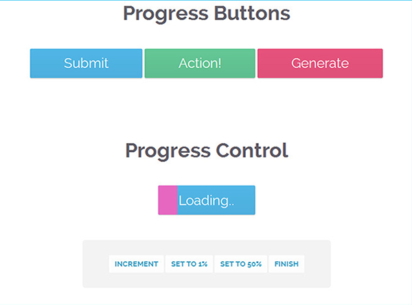 Buttons With Built-in Progress