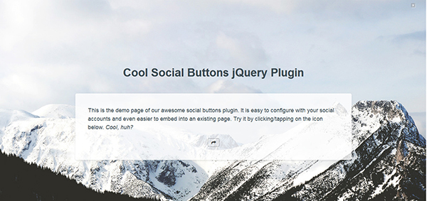 Cool Social Buttons