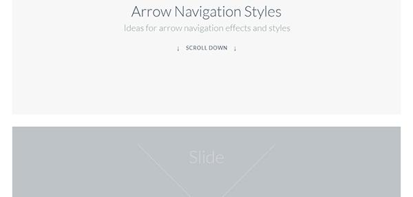 Arrow Navigation Styles