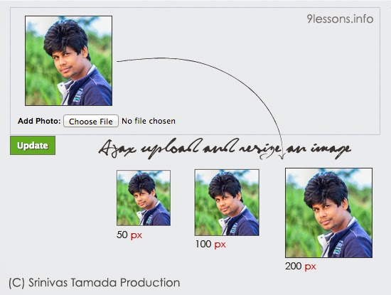 Ajax Upload and Resize an Image with PHP