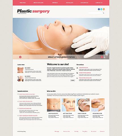 Plastic Surgery Responsive Joomla Template