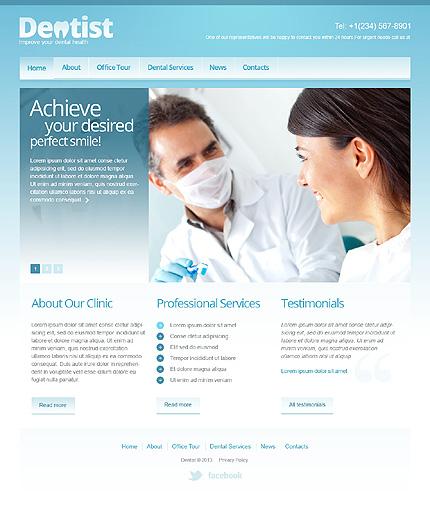 Responsive Dentistry Joomla Template