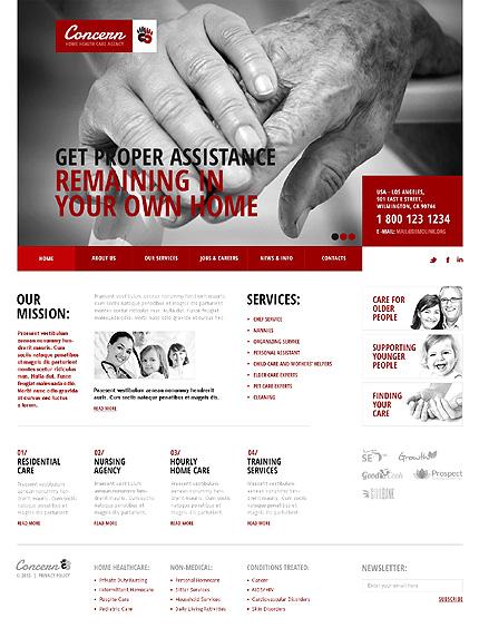 Branding Medical Joomla Template